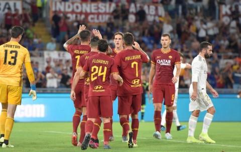 Madrid Bertekuk Lutut di Kandang Roma