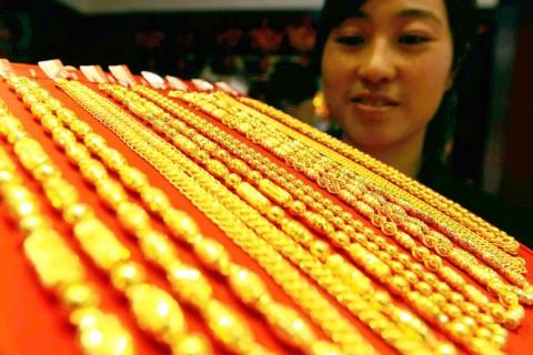 Harga Emas Tiongkok Capai Level Tertinggi