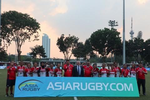 Timnas Rugby Putri Raih Perunggu Kejuaraan Asia