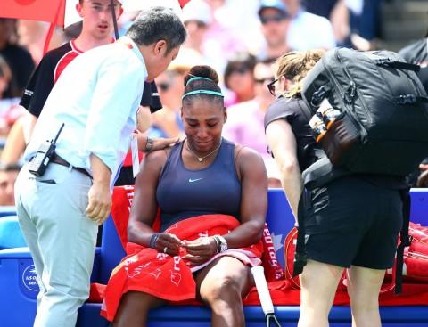 Cedera Punggung, Serena Relakan Gelar Roger Cup
