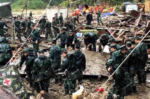 Topan Lekima Mengganas, 44 Warga dilaporkan Tewas