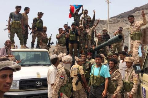 Pasukan Bersekutu Saling Serang, 40 Tewas di Yaman