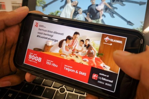 Telkomsel Tawarkan Kuota untuk Pengguna dan Keluarga