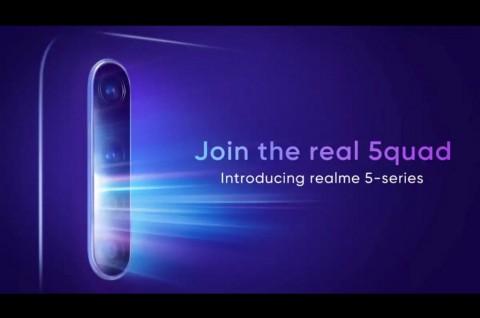 Meluncur 20 Agustus, Realme 5 Pasang Kamera 48MP?