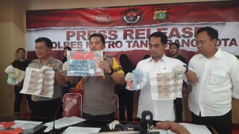 Polisi Ringkus Komplotan Pengedar Uang Palsu di Tangerang