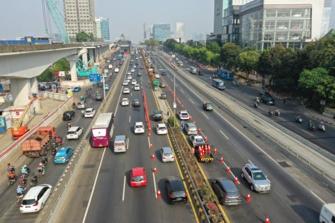 Pemberlakuan Relokasi Contra flow Jalan Tol Dalkot Diperpanjang