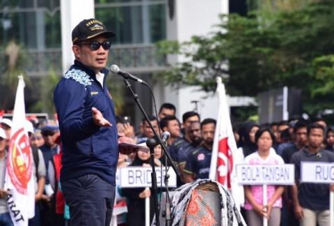 Ridwan Kamil Lepas Kontingen Jabar untuk PON 2020