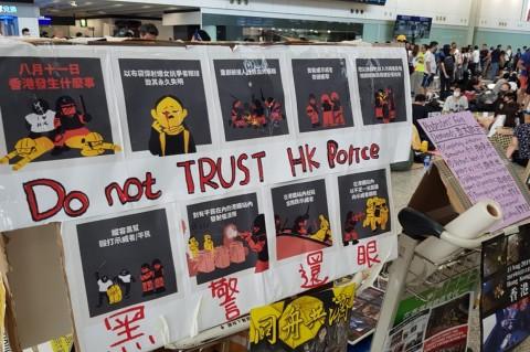 Situasi Terkini Demo di Hong Kong