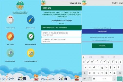 E-Uji Emisi, Aplikasi Pemprov DKI  untuk Bantu Kurangi Polusi