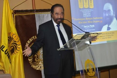 Surya Paloh Tak Ambil Pusing Komposisi Menteri