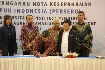 Pupuk Indonesia Gelar Program Magang Bersertifikat bagi 20 Universitas