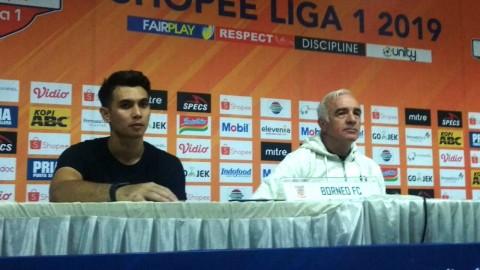 Imbang di Bandung, Gomez Sanjung Pemain Borneo