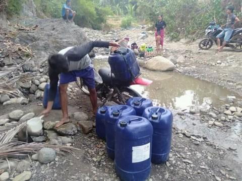 BPBD Pasok Air Bersih ke 6 Kecamatan di Banten