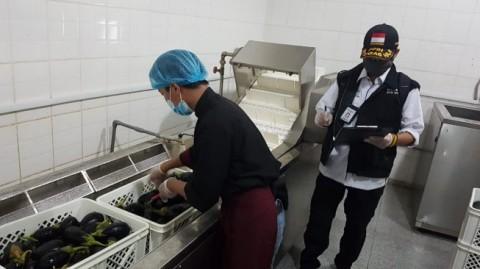 Tim Sanitasi Kemenkes RI Cegah Keracunan Makanan pada Jemaah Haji
