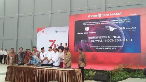 Lion Air dan GMF Bangun MRO di Batam