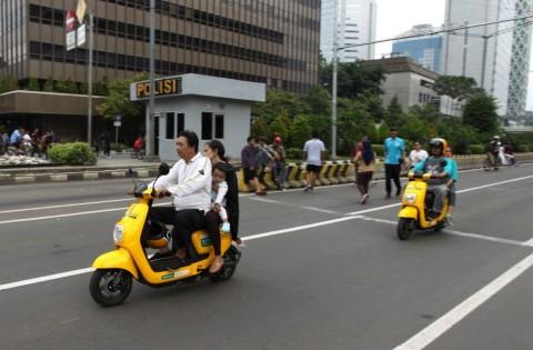 DKI Jakarta dan Bali Jadi Percontohan Motor Listrik