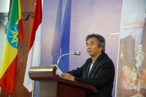 Wejangan Dubes Indonesia untuk Mahasiswa Ethiopia
