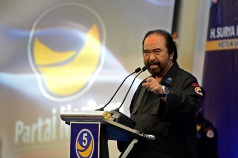 Surya Paloh Dukung Penuh Komposisi Kabinet Jokowi