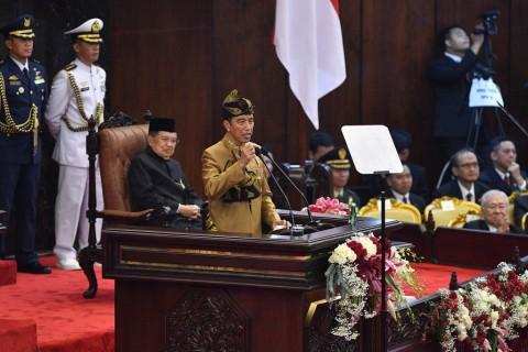 Presiden Yakin Visi Indonesia Maju Jadi Pelatuk Kemajuan