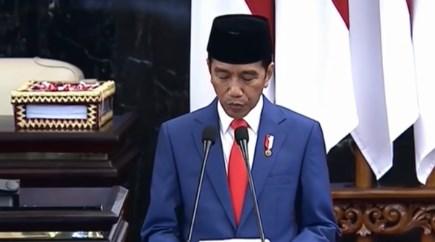 Jokowi Sampaikan Asumsi Makro Ekonomi 2020 di Pidato Nota Keuangan
