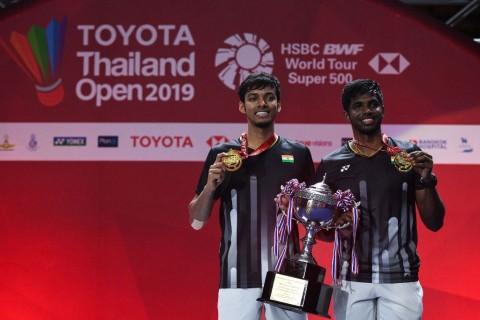 Ganda Putra Terbaik Thailand Open Absen di Kejuaraan Dunia Bulu Tangkis