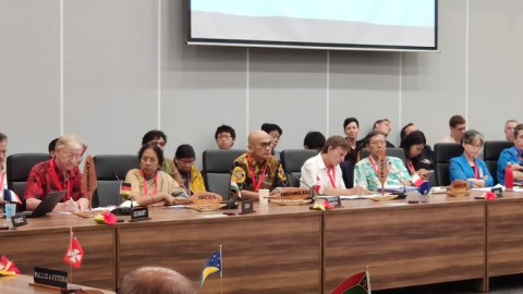 Indonesia Attends PIF Meeting in Tuvalu