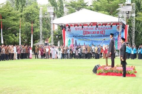 Ratusan WNI Peringati HUT ke-74 RI di KBRI Bangkok