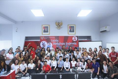 Warga Laos Ikuti Upacara Bendera HUT RI ke-74