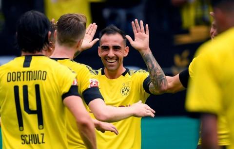 Dortmund Pesta 5 Gol ke Gawang Augsburg