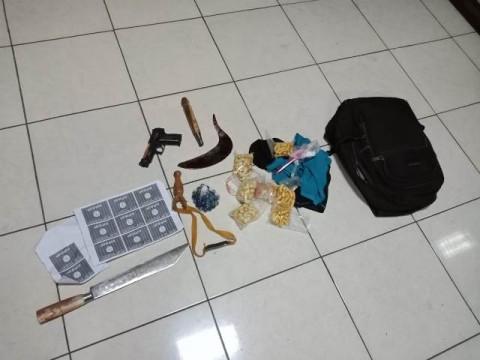 Terduga Teroris Serang Anggota Polsek Wonokromo Surabaya