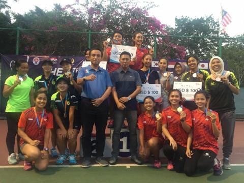 Tim Soft Tenis Indonesia Berbagi Gelar dengan Korea Selatan