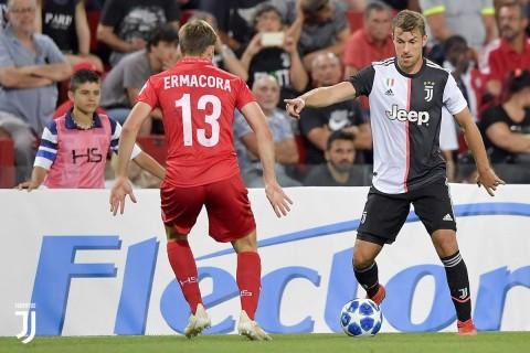 Respons Ramsey Usai Lakoni Debut Bersama Juventus