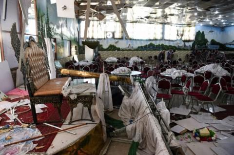Bom di Pesta Pernikahan Afghanistan Tewaskan 63 Orang