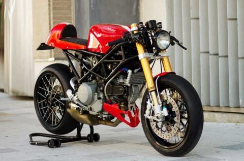 Ducati S2R Cafe Racer Tampil Klimis ala Cohn Racers