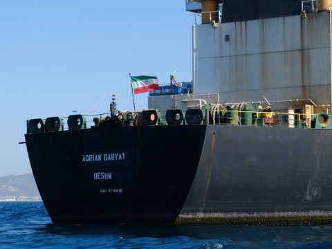 Kapal Tanker Iran Tinggalkan Gibraltar