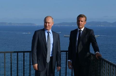 Macron dan Putin Optimistis Mengenai Masa Depan Ukraina