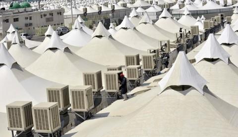 Tenda Bertingkat Mina untuk Jemaah Haji Indonesia Diuji Tahun Depan