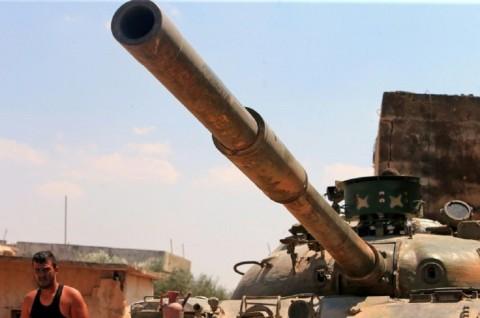 Pemberontak Mundur dari Area Kunci di Suriah
