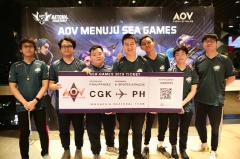 EVOS Wakili Timnas AOV Indonesia di SEA Games 2019