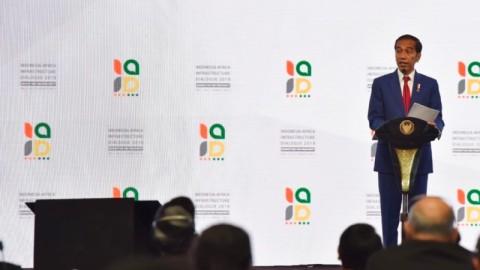 Kepada Afrika Presiden Tegaskan Indonesia Sahabat Terpercaya