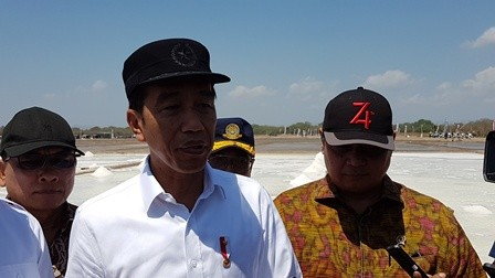 Jokowi Sebut NTT Berpotensi Jadi Penghasil Garam