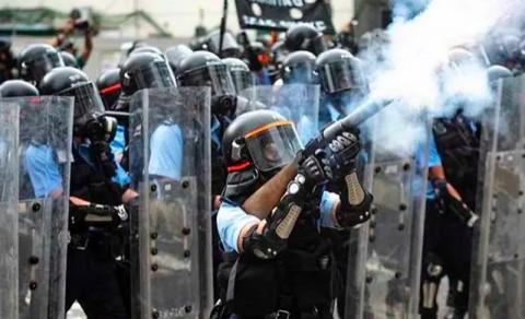 Diduga Pukuli Pria di Rumah Sakit, Dua Polisi Hong Kong Ditangkap