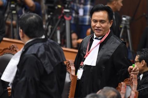 PBB Sebut Yusril Bisa Jadi Eksekutor Jokowi-Ma'ruf