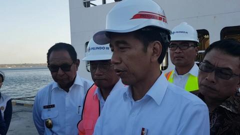 Presiden Ingin Kapasitas Pelabuhan Tenau Ditingkatkan