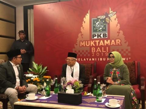 Ma'ruf Amin Tutup Muktamar PKB