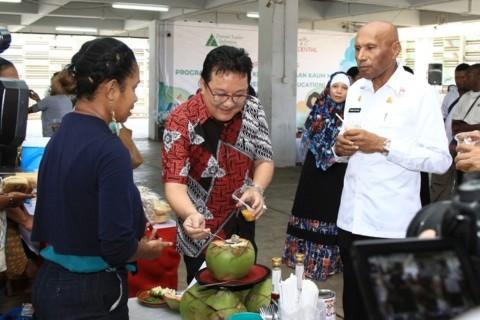 Prudential Indonesia Berikan Pendampingan bagi Pengusaha Muda Papua