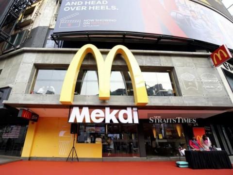 McDonald Ubah Nama Jadi 'Mekdi' di Malaysia