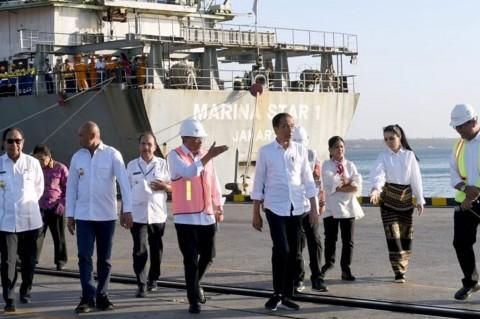 Jokowi Tinjau Pelabuhan Tenau Kupang