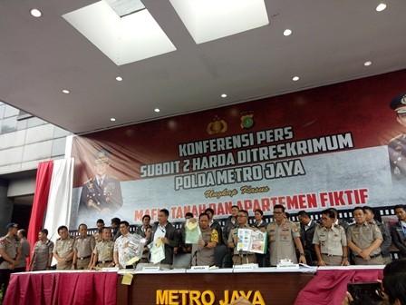 Polisi Ungkap Penipuan Apartemen Fiktif Rp30 Miliar