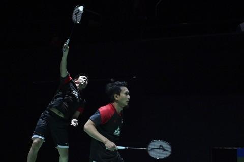 Ahsan/Hendra Lolos Perempat Final Kejuaraan Dunia